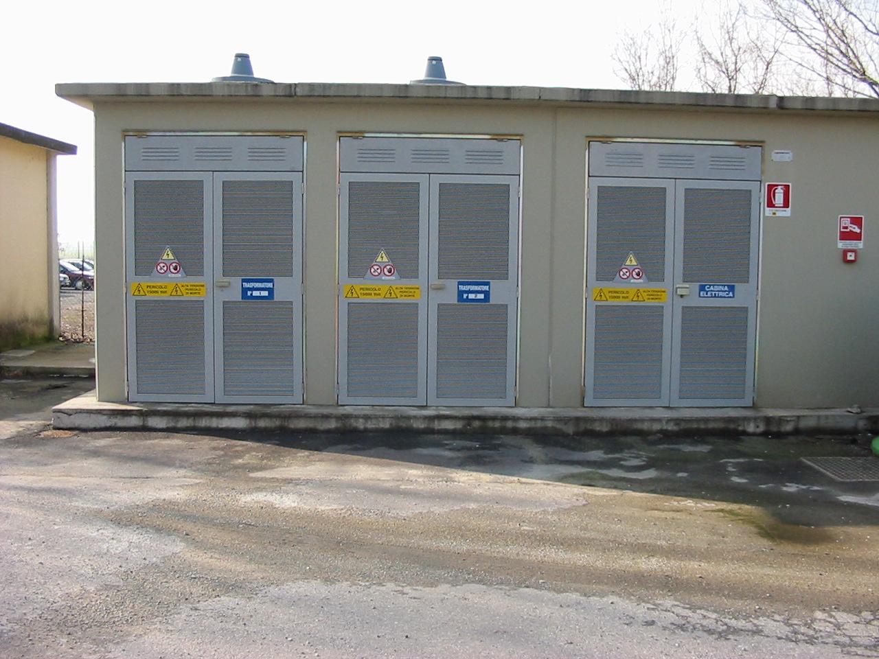 cabine elettriche di trasformazione | scf elettronica